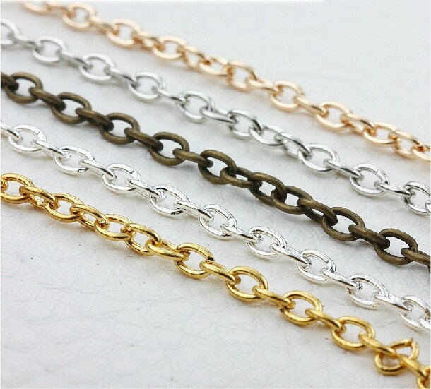 Cross link chain inches mmx mm with connectors from