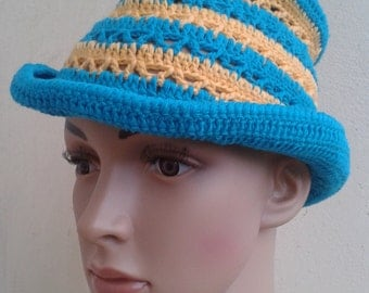 Blue-Yellow Hat