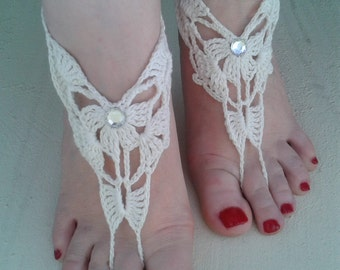Barefoot Sandals Foot Jewelry Bridal Hippie