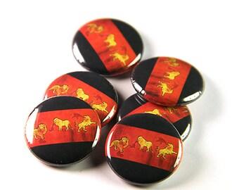 Carissa's Wierd Pinback Button