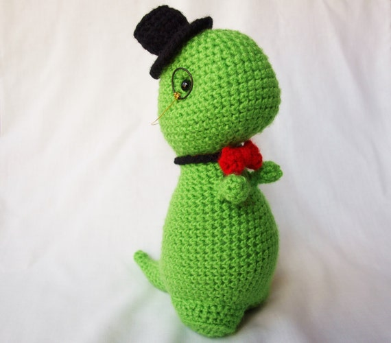 Classy crochet Dinosaur (Can be made fancy or normal)