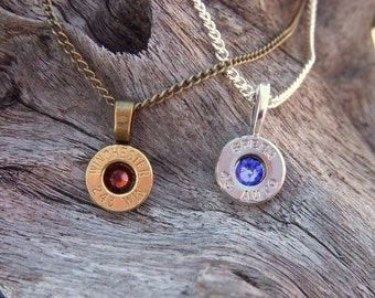 New lower price. Bullet jewelry. Bullet casing necklace