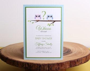 Baby Shower Invitation- look 3