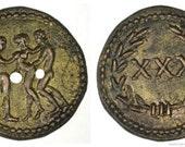 Roman Spintria Brothel Entry Token XXX Bronze