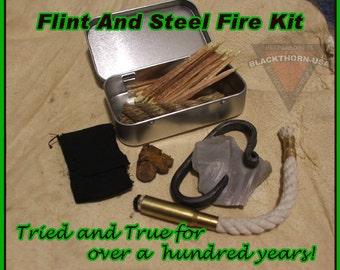 Primitive Flint and Steel Fire KIt
