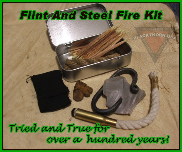 how to make a filint and steel