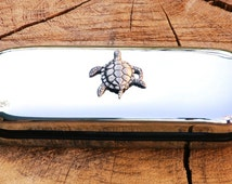 Turtle Glasses Spectacle Metal Case Personalised Engraved Gift