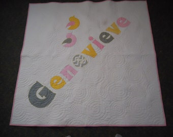 Personalized Name Quilt