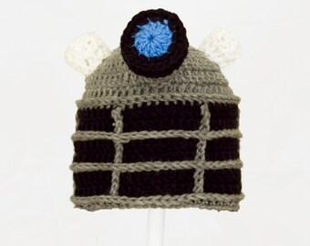 Knitting Pattern For Dalek Hat : Knit dalek hat Etsy
