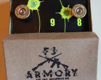 357 Magnum Bullet Cufflinks