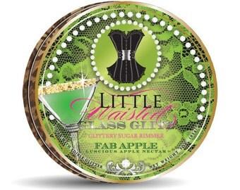 Fab Apple - Glittery Sour Apple Sugar Rimmer