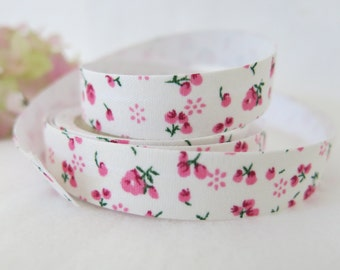 Floral Fabric Tape / Adhesive Decoration Fabric Tape  FT002