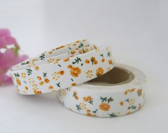 Floral Fabric Tape / Adhesive Decoration Fabric Tape  FT032