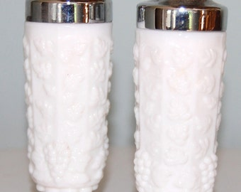 Paneled Grape Salt and Pepper Shakers    by Westmoreland