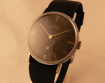 Dorex Wrist Watch 15 Jewels Genuine Bauhaus Minimalistic Ca 1930's