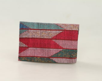 Nepal dhaka small clutch - Arrow design