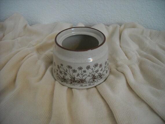 Noritake Stoneware Sugar Bowl