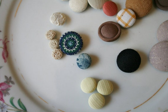 Cloth covered shank sewing buttons jewelry supplies from for Buttons with shanks for jewelry