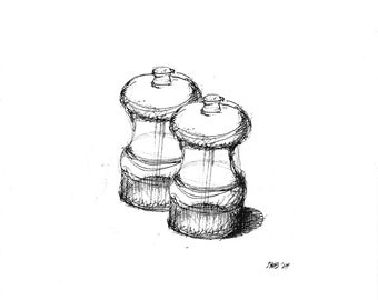 Salt and Pepper (print)