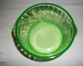 Spiral Ice Bucket or Butter Tub / Free Shipping