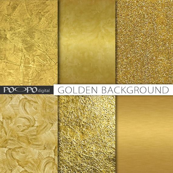 Oro texture carta digitale foglia oro sfondo dorato scrapbook for Pareti avorio perlato