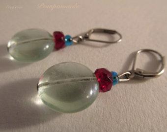 2829 - Earrings Fluorite