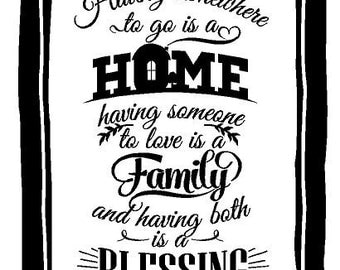 Having Somewhere To Go Is A Home Decal