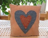 Rustic Americana Primitive Pillow, FAAP, OFG