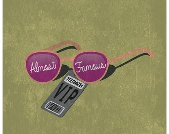 Almost Famous Minimalist Poster