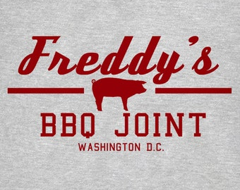 Freddys BBQ House of Cards T Shirt