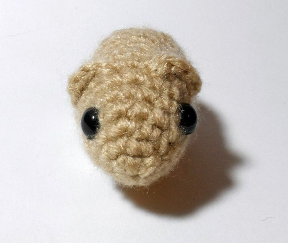 Amigurumi Parrot Pattern Free : Baby Guinea Pig Amigurumi Crochet Plush by CratesCrafts on ...
