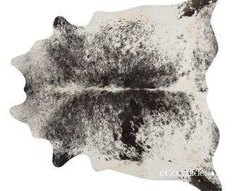salt and pepper black brazilian cowhide rug cow hide rugs xxl