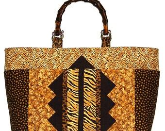 PDF Bag Pattern, Tri Tip Tote, Purse Pattern, Tote Bag Pattern, Instant Download Digital Bag Pattern