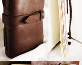 Handmade Leather Journal - Hannah Olney