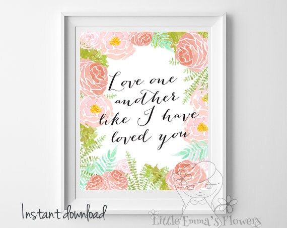 Marriage Quotes Wall Art Scripture Wedding Bible Verse Christian Decor NEW5 154