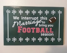 Popular Items For Football Plaque On Etsy