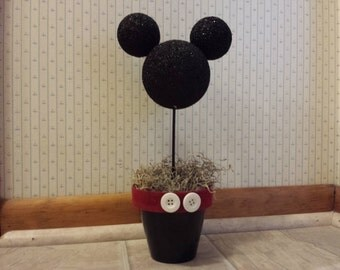 Mickey Mouse Head Centerpiece
