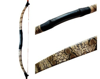 MAYARMS Camouflage Archery Bow Traditional Chinese Longbow Manchu Longbow Mongolian Bow 20-70lbs