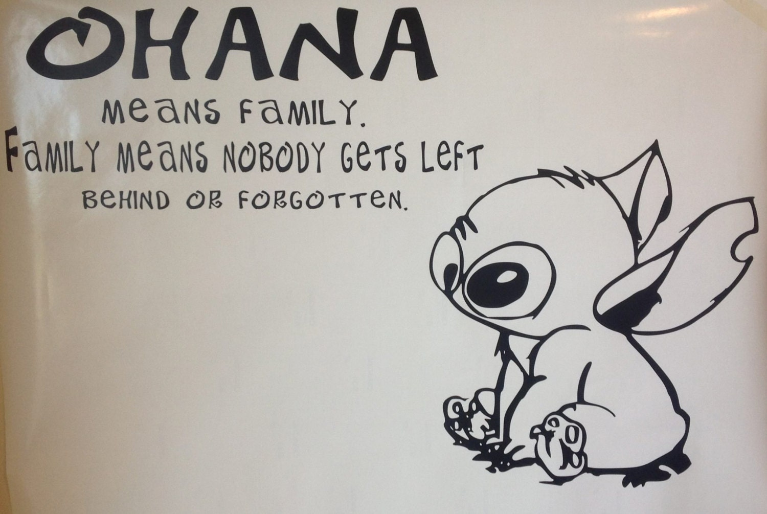 stitch ohana quote wallpaper - photo #16
