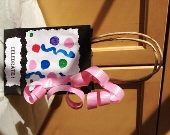 12 Celebrate Favor Bags