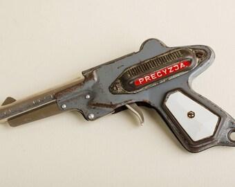 Beautiful Vintage boy toy gun / Polish toy / 1960s / Retro toy
