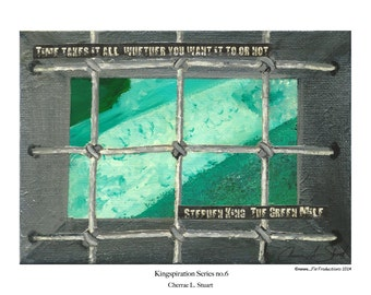 Stephen King inspired Art Print- The Green Mile