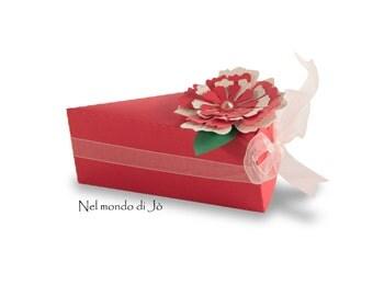 "Favor box ""Cake 2"""