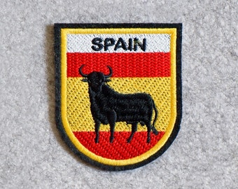 Embroidered Patch SPAIN