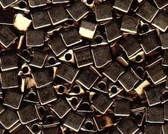 Sharp Triangles - Size 8 Metallic Bronze - 10 gms