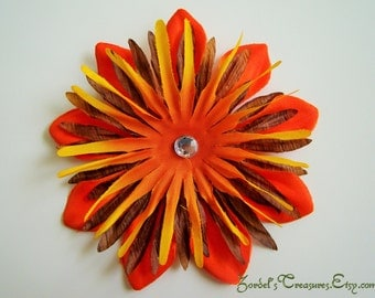 Flower Hair Clip - One Size - #185