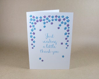 Floral Thank-You Card