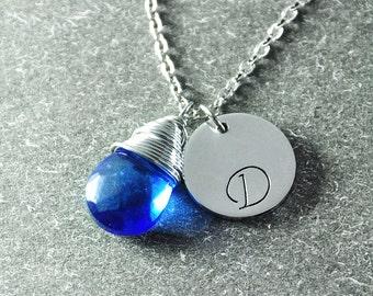 Free shipping - Personalized Jewelry , wedding Jewelry ,  Bridesmaid  Necklaces , Bridesmaid  Necklace