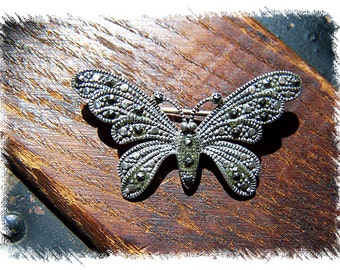 Antique Butterfly Pin
