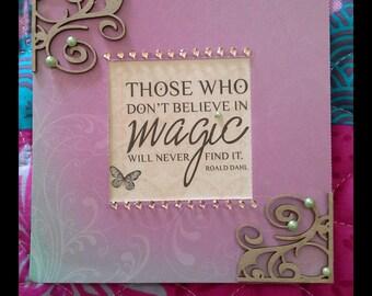 A inspirational card